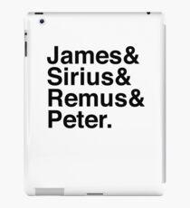 James & Sirius & Remus & Peter. iPad Case/Skin