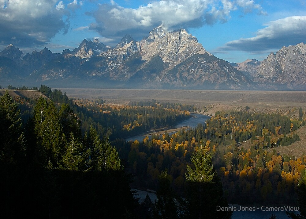 Snake River Overlook by Dennis Jones - CameraView