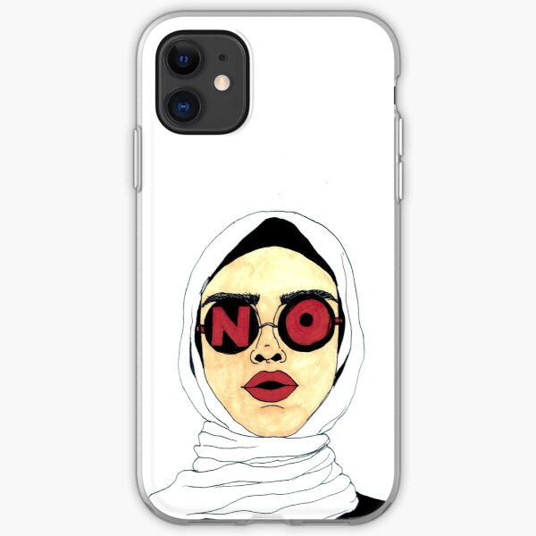 power to the hijabis iPhone Soft Case