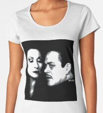 Gomez and Morticia Women's Premium T-Shirt