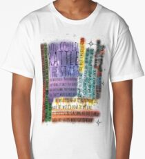 THRONE OF GLASS QUOTES Long T-Shirt