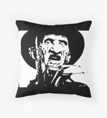 Freddy Kruger Throw Pillow