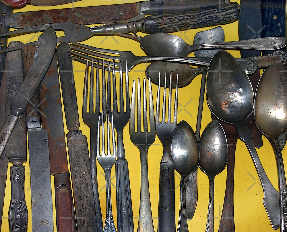 A Drawer of Old Utensils. by CarolM