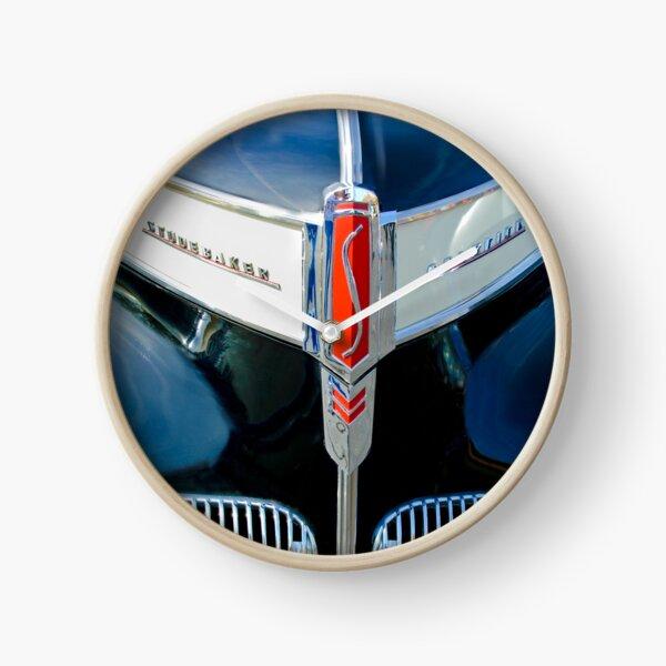1941 Studebaker Champion Hood Emblem -0215c Clock