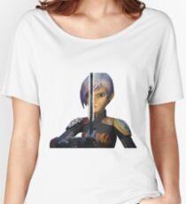sabine wren darksaber vers 2 Women's Relaxed Fit T-Shirt