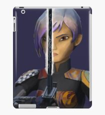 sabine wren darksaber vers 2 iPad Case/Skin