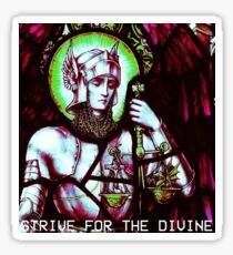 AESTHETIC - Strive for the Divine Sticker
