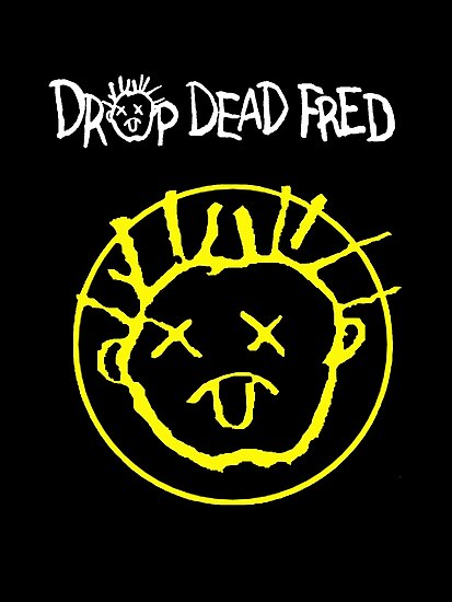 Drop Dead Fred Smiley Face Photographic Prints By Faction Redbubble