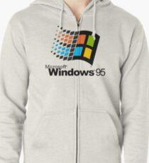 Windows 95 Zipped Hoodie