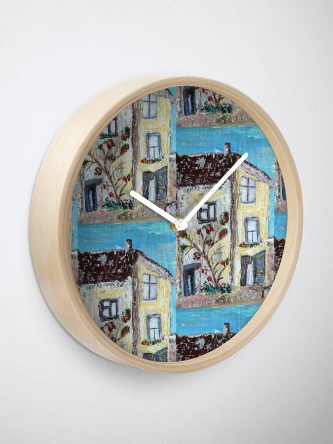 Alternate view of Cornwall house pattern Clock