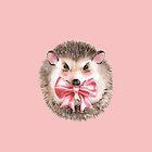 Cute Hedgehog  by Gribanessa