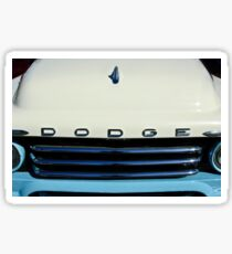 1958 D Sweptside Truck Grille -0023c Sticker