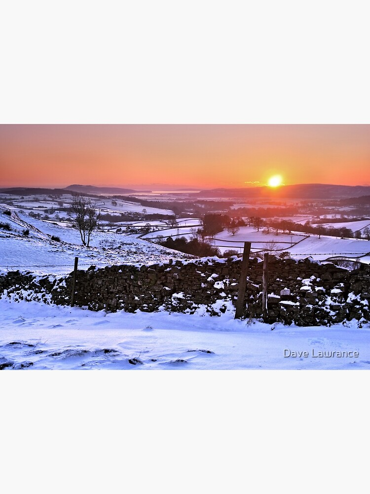 Winter Sunset on The Helm, Kendal - Cumbria by DLLP