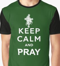 KEEP CALM AND PRAY Graphic T-Shirt