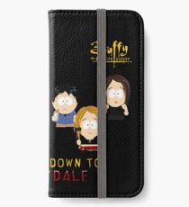 Buffy the Vampire Slayer as South Park iPhone Wallet/Case/Skin