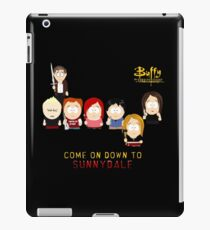 Buffy the Vampire Slayer as South Park iPad Case/Skin