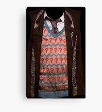 7th Doctor T Canvas Print