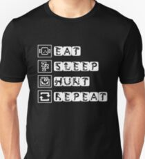 EAT SLEEP HUNT REPEAT Unisex T-Shirt