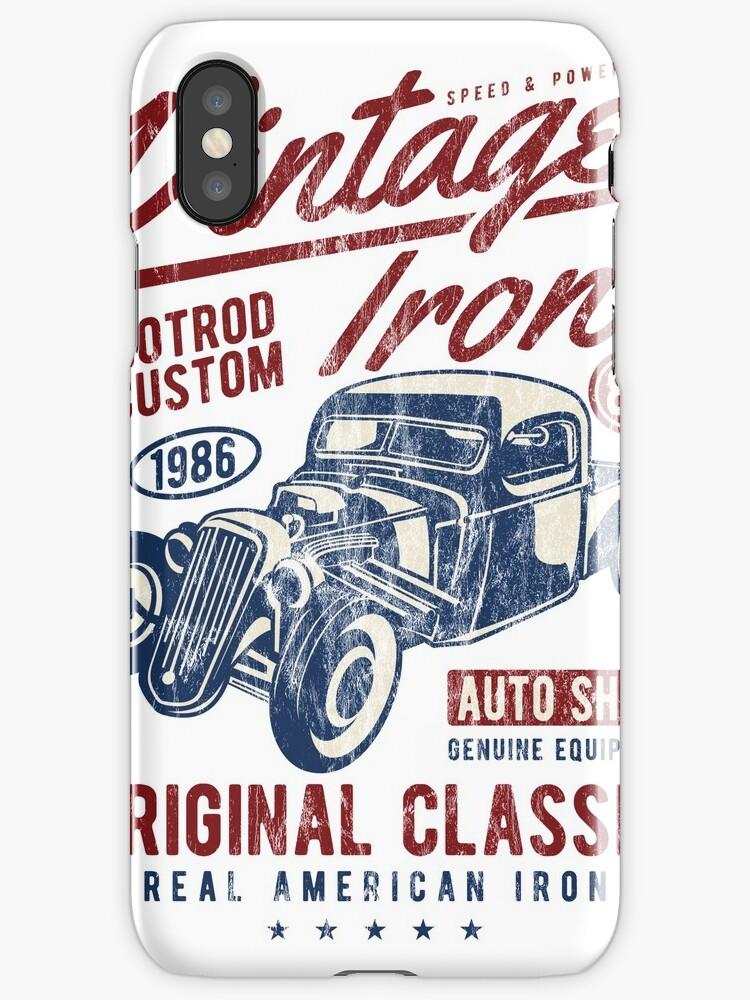 HOTROD - Vintage Iron Hot Rod Shirt Motif by THE SUPERIORS SHIRT SHOP