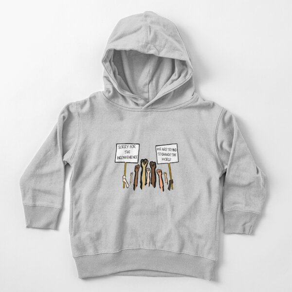 Sorry for the Inconvenience...  (I Can't Breathe) Toddler Pullover Hoodie