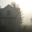 Early morn over the old house by CCallahan