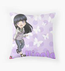 Chibi Hinata Throw Pillow