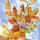 Autumn Leaves On Display by RobynLee