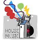 hous music by Theo Kerp