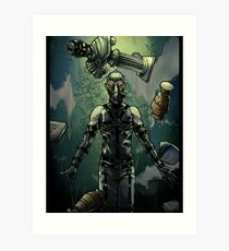 Psycho Mantis MGS Art Print