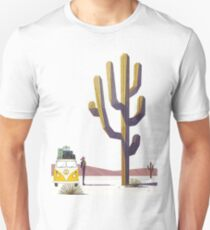 Hippie with Bus!! T-Shirt