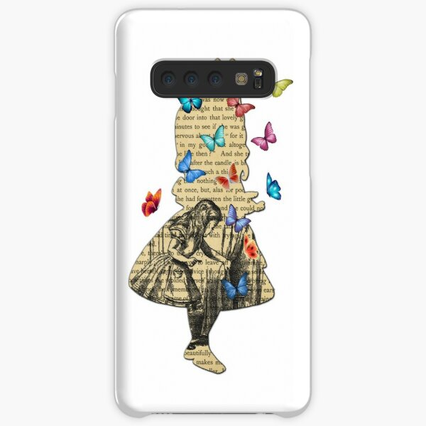 Alice In Wonderland - Vintage Wonderland Book Samsung Galaxy Snap Case