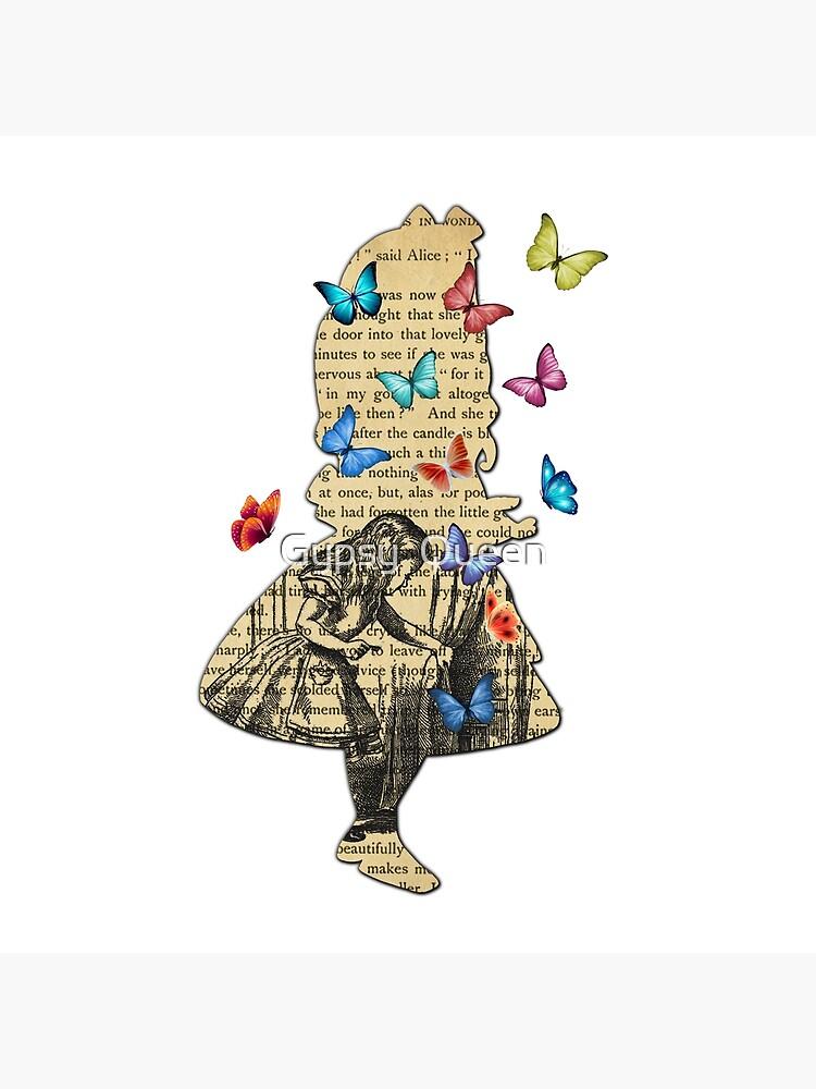 Alice In Wonderland - Vintage Wonderland Book by nomadartstudio