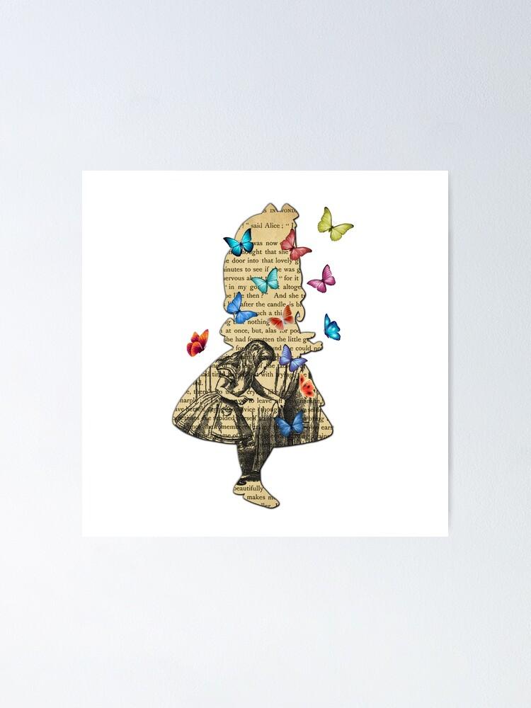 Alternate view of Alice In Wonderland - Vintage Wonderland Book Poster