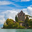 The 700 year old castle of Yvoire by the lake Geneva by Konstantinos Arvanitopoulos
