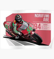 Norifumi Abe - 1994 Suzuka Poster