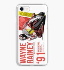 Wayne Rainey - 1991 Paul Ricard iPhone Case/Skin