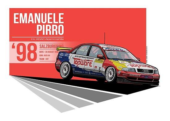 Emanuele Pirro - 1998 Salzburgring by Evan DeCiren
