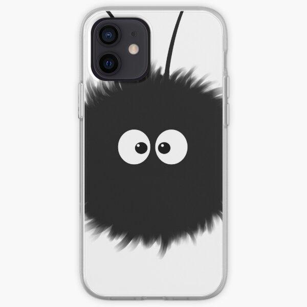 White Cute Dazzled Bug iPhone Soft Case