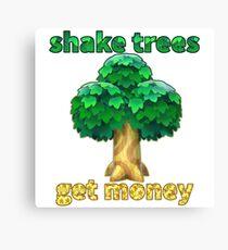 Shake Trees...Get Bells Canvas Print