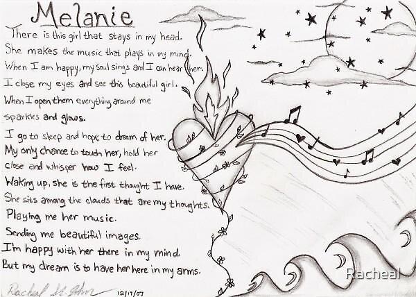 Melanie by Racheal