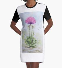 The Poppy Presents Graphic T-Shirt Dress