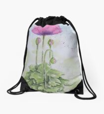 The Poppy Presents Drawstring Bag