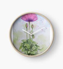 The Poppy Presents Clock