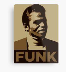 James Brown: FUNK Metal Print
