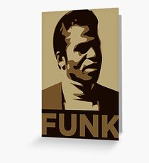 James Brown: FUNK Greeting Card