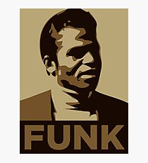 James Brown: FUNK Photographic Print