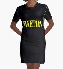 NINETIES Graphic T-Shirt Dress