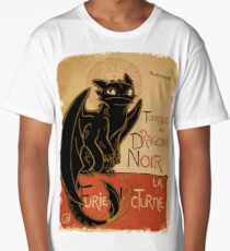 Le Dragon Noir Long T-Shirt