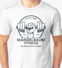 Seinfeld - Mandelbaum Fitness T-Shirt (White) Unisex T-Shirt