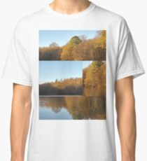 Autumn Reflections Mash Up  Classic T-Shirt